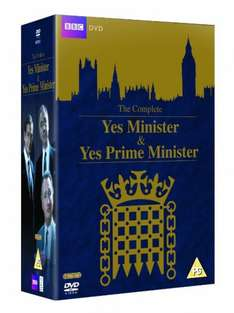 Yes Minister and Yes Prime Minister Complete DVD £11.70 @ Amazon UK