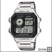 Casio watch stainless steel strap £16.99 @ Amazon