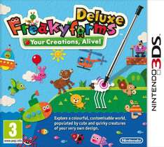Freakyforms Deluxe (3DS) £4.95 Delivered @ TheGameCollection Via eBay