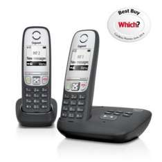 Gigaset A415A Cordless Telephone with Answer Machine - Twin. WAS £47.99 NOW £24.99 @ Argos WHICH BEST BUY!