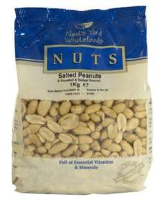 1 Kg Salted Peanuts £4.99 BOGOHP @ Holland and Barrett