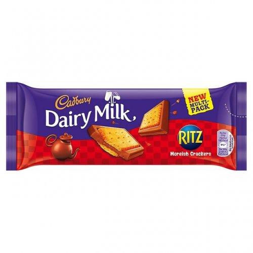 Cadbury DairyMilk With Ritz 3Pack 60p @ Heron Foods