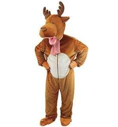 Adult Reindeer Costume - Cut Antlers off if dog costume required. £28.75 Bristol Novelties on Amazon