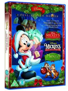 The Ultimate Mickey Mouse Movie Collection [DVD] £8.04 @ Amazon  (free delivery £10 spend/prime)