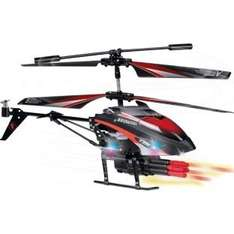 Missile firing remote control helicopter. Ideal Xmas present. £24.99 at Argos