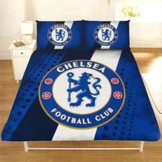 Single & Double Football Duvet Cover Bedding Sets - Official FC Designs = £16.99/£22.99 delivered @ eBay/play_rooms