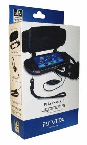 4Gamers PS Vita Play Thru Kit ( Visor, Headphones & strap ) £2.99 Delivered @ Game
