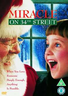 Miracle On 34th Street [DVD] [1994] Amazon £3.00  (free delivery £10 spend/prime)