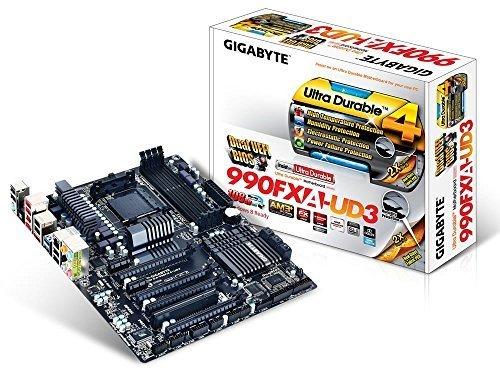 Gigabyte 990FXA-UD3 SKT-AM3+ Motherboard £82 @ Amazon