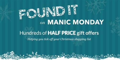 Debenhams Manic Monday up to 50% off Hundreds of items