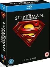 The Superman Collection I-V (4 Discs) £8.99, Oceans Trilogy £7.99, The Dark Knight Trilogy £11.99 (All Blu Ray) Delivered @ TheEntertainmentStore Via eBay
