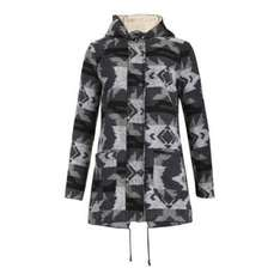 Izabel London Grey Long Sleeve Aztec Parka Coat £20.80 @ Debenhams.