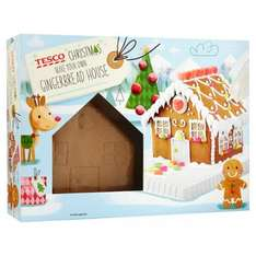 Tesco Gingerbread House Kit 570G Half Price Was £3.00 Now £1.50 @ Tesco Also Stained Glass Biscuit Kit £1.50