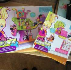 Polly pocket wall party sets £2.99  @ Home Bargains!!