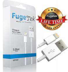 Lightning Cable to USB for iPhone, iPad and iPod nano on FugeTek  Fulfilled by Amazon for £7.99 (free delivery over £10 / Prime)