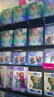 Various Disney DVD's including Frozen £6.99 also other in-store deals - Could be National @ HMV