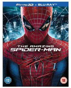 The Amazing Spider-Man (Blu-ray 3D + UV Copy) [2012] [Region Free]  Amazon £5.71   (free delivery £10 spend/prime)