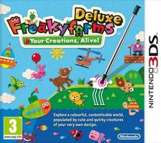 Freakyforms Deluxe (3DS - Import) £4.95 Delivered @ TheGameCollection Via Rakuten