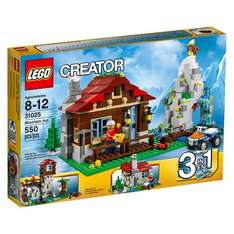 Lego creator mountain hut 31025  in tesco clearance yellow crate £8.75 instore