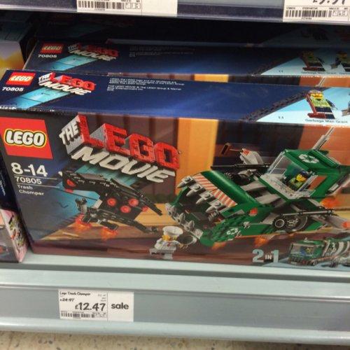Lego Movie Trash Chomper £12.47 @ Asda