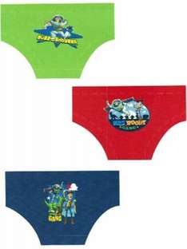 Boys Official Disney Toy Story Character Briefs underwear 6 pack - £3.99 @ Ebay / socks-uwear-uk