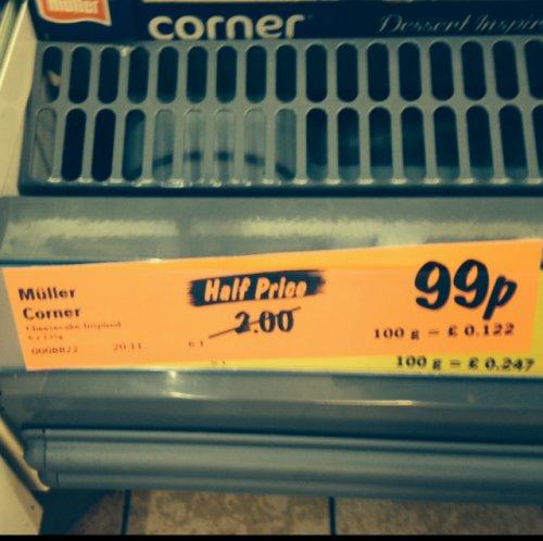 Muller Corner Cheesecake - 6 for 99p - Lidl