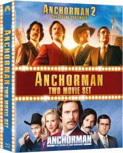 Anchorman: The Legend of Ron Burgundy / Anchorman 2: The Legend Continues [Blu-ray Boxset] £9.99 @ Zavvi