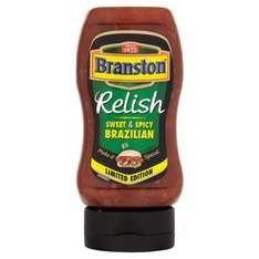 Spice up your life - Branston Sweet & Spicy Brazilian 345g only 39p save £1.10 at Home Bargains