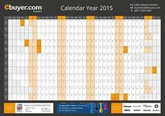 Wall Planner ebuyer 2015 - 29p with free delivery - Amazon / Ebuyer