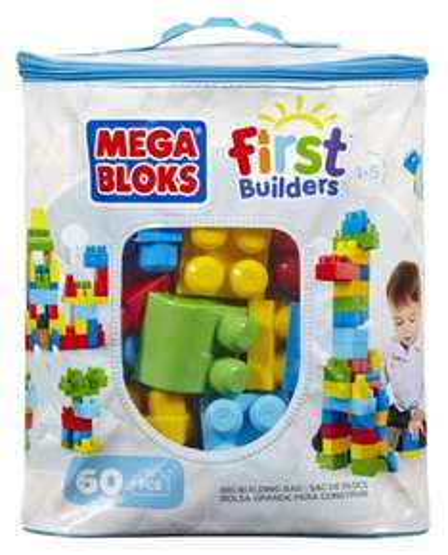 Mega Bloks Classic Buildable Bag (60 Pieces) - Amazon £7.50  (Free Del £10 spend / Prime)