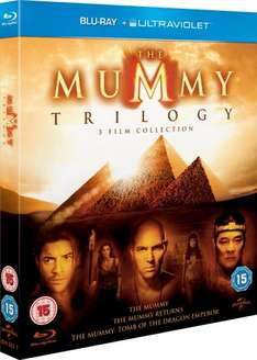 The Mummy Trilogy Blu Ray £8.40 @ Amazon (free del with prime/£10 spend)
