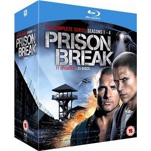 Prison Break: The Complete Seasons Box Set (23 Discs/Blu Ray) £30 Delivered @ Fox Direct Via Play.com (DVD £15)