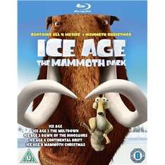 Ice Age: 1-4 & Mammoth Christmas - The Mammoth Collection (5 Disc Blu Ray) £10 Delivered @ Fox Direct Via Play.com