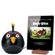Gear4 Angry Birds Docking Speaker - Black Bird - £12.99 (RRP £69.99) @ IWOOT
