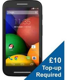 Motorola E Down to £69 which includes £10 top up at Argos