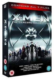 X-Men - The Cerebro Collection (7 Films Box Set) [DVD] [2014] £15.99 @ Amazon (£10.99 with Mastercard code)