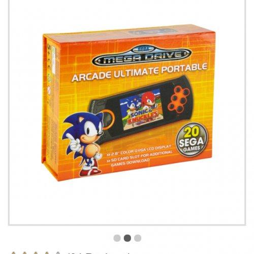 Sega Mega Drive Arcade Ultimate Portable Console £24.99 @ Argos