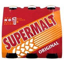 Supermalt 6 bottle case 2 for £5 @ Asda