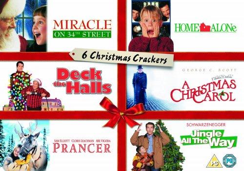 Christmas Crackers Collection: 6 DVD Christmas films £10.60 @ Amazon