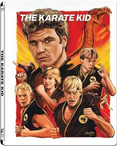 Karate Kid Steelbook pre order at Zavvi £14.99