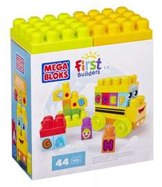 Mega Bloks First Builders ABC Spell School Bus £6.49 @ amazon.co.uk  (free delivery £10 spend/prime)