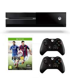Xbox One Console, FIFA 15, Two Wireless Controllers and Forza 5: Racing Game of the Year Edition (Full Game Download) £369.85 @ Amazon