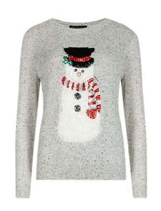 30% off Selected Mens & Womens Christmas Jumpers & Kids Novelty Christmas Knitwear @ Marks & Spencer