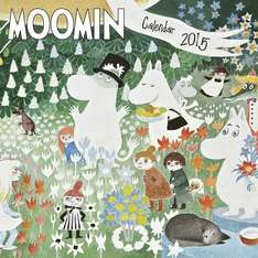 Moomin Wall Calendar £5.93 @ Amazon (Prime or with Orders over £10)