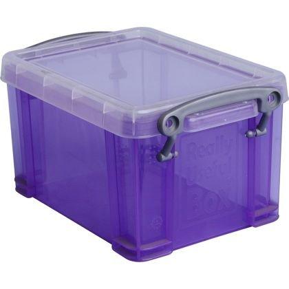 Really Useful Box (Purple) 1.6L - £1.54 Using Code STOR20  @ Homebase