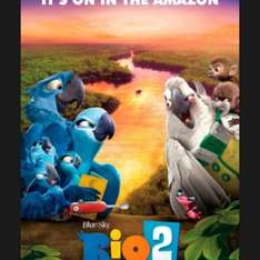 Rio 2 movies for juniors this weekend in cineworld. From £1.25 per ticket