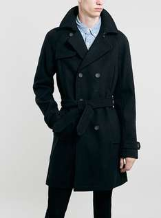 TopMan Trench Coat. Reduced from £90 - £48