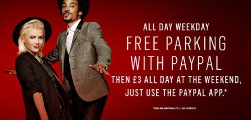 Free parking at Westfield London during weekdays!