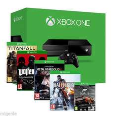 XBOX One Bundle Including 5 Games only £325.98 Inc Delivery @ eBay / migenie