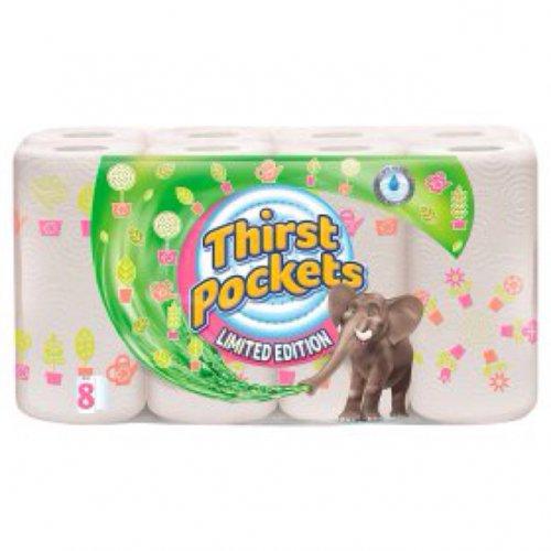 Thirst Pockets 8 rolls for £3 @ Asda